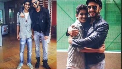 Ranveer Singh and fan Jatin Dulera