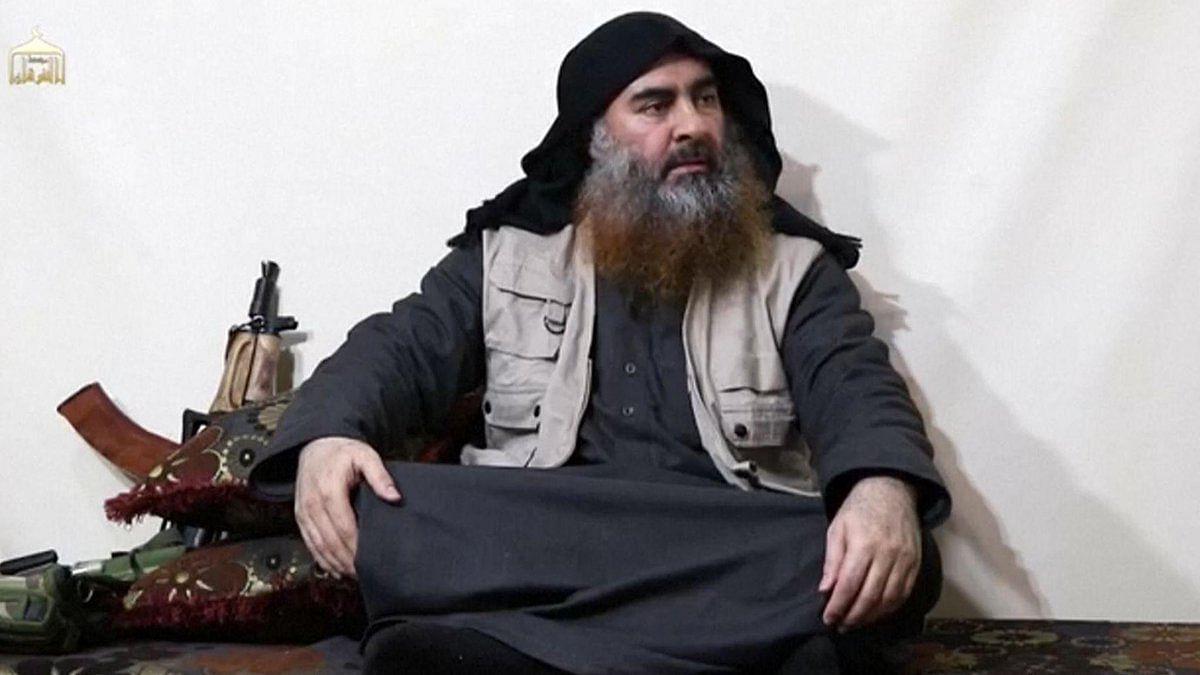 IS captive Umm Sayyaf reveals helping CIA hunt for Baghdadi