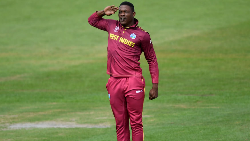 ICC Cricket World Cup 2019: Reason behind West Indian pacer Sheldon Cottrell's salute decoded
