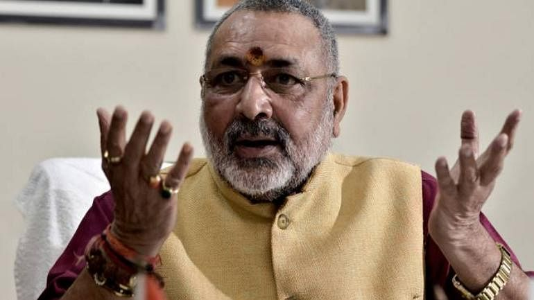 Giriraj Singh taunts Nitish Kumar, Paswan after Iftar party