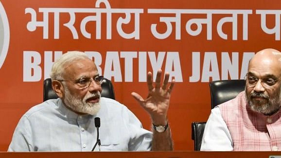 Media musings:  When will our journalists question Modi and Shah?