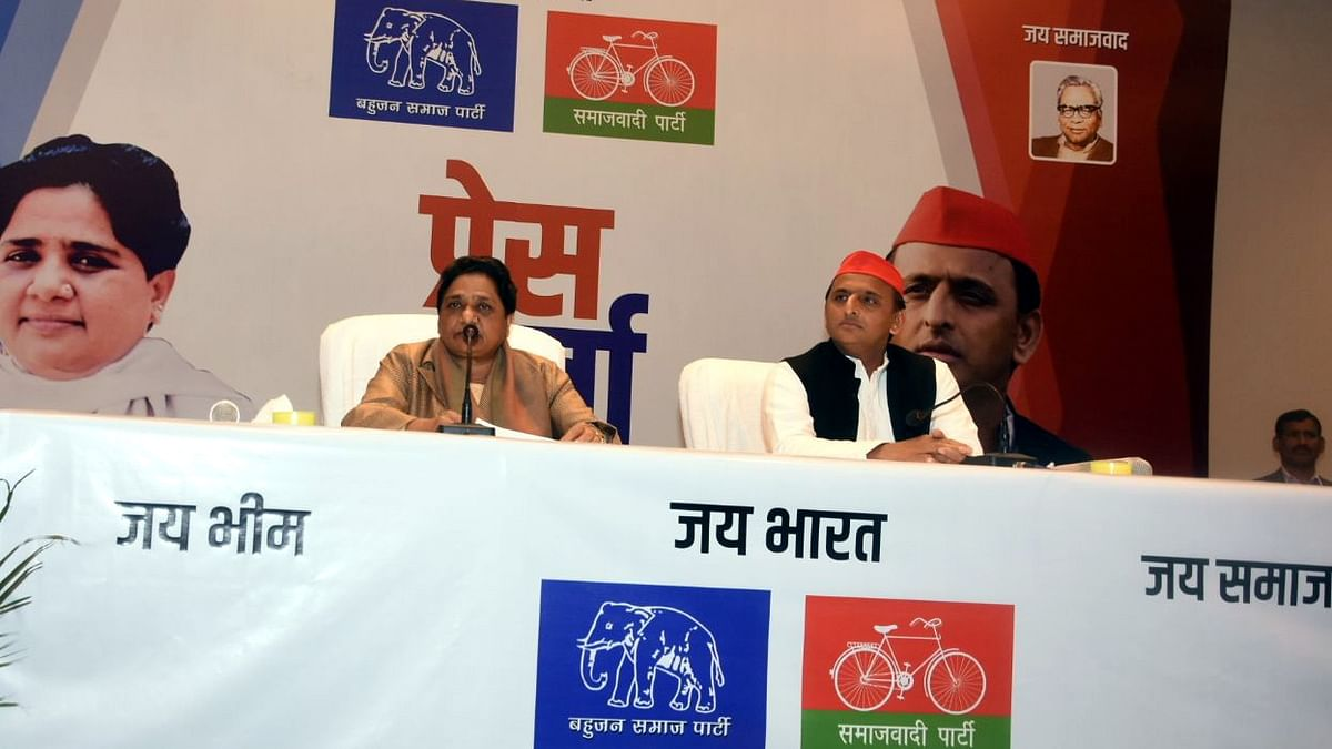 Voices of dissent emerge in SP against BSP chief Mayawati