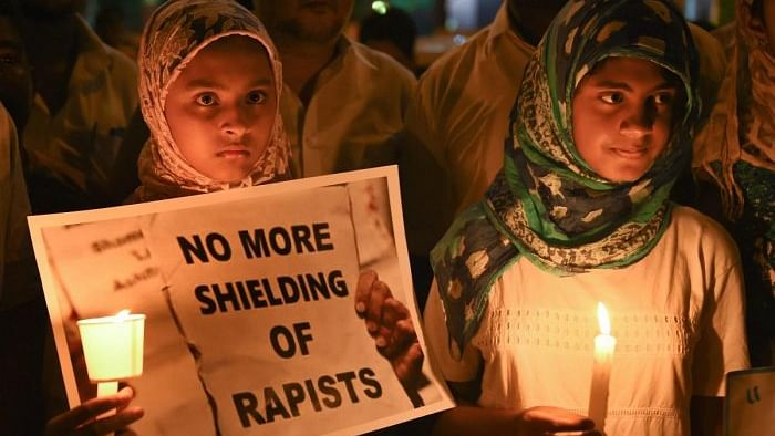 Kathua rape-and-murder case protest (PTI)