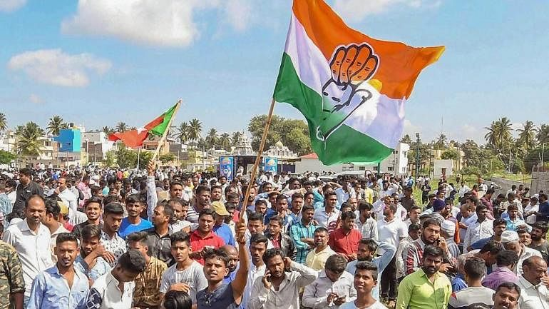Congress hails victory in local body polls in Karnataka