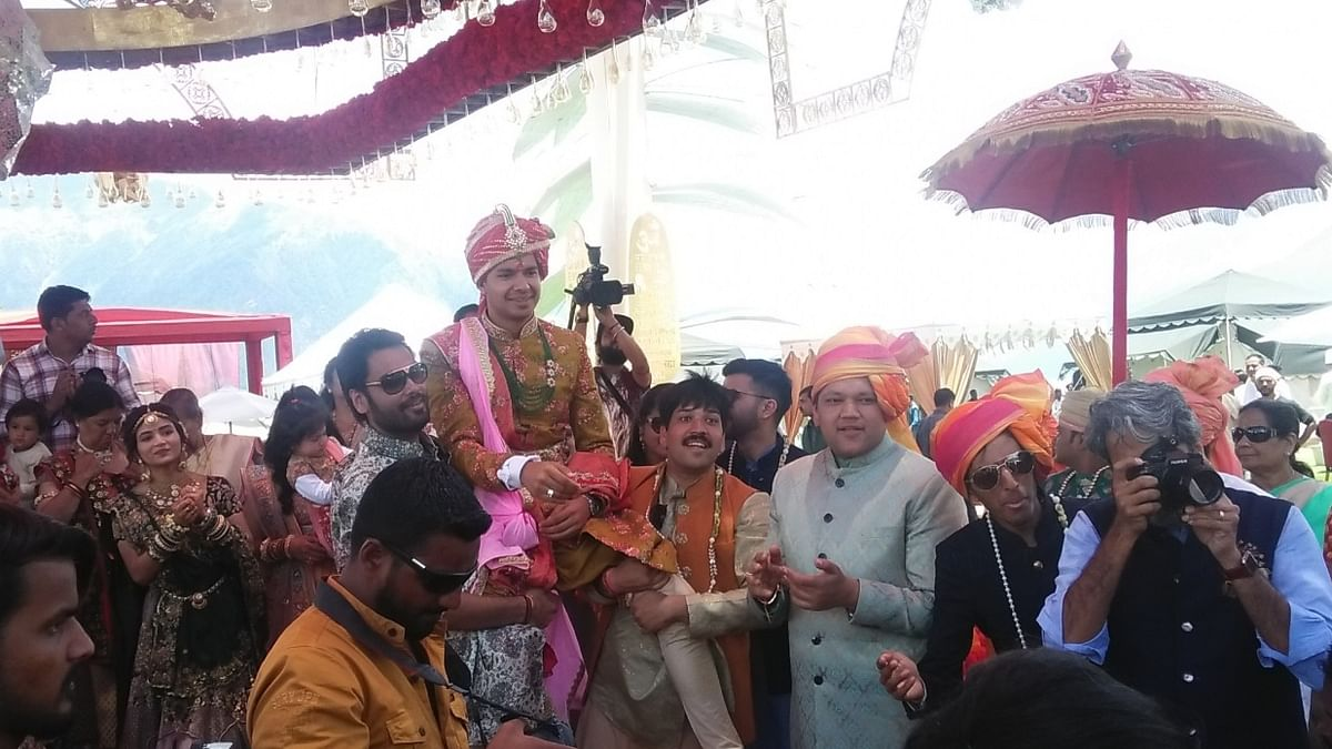 Auli stares at quintals of waste after Gupta weddings takes place