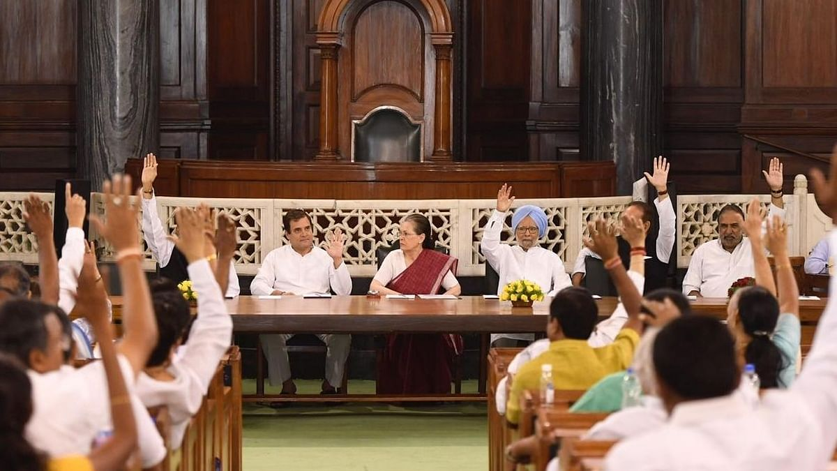 Sonia remains CPP leader, Rahul Gandhi decides to raise voice of all citizens in parliament with 52 MPs