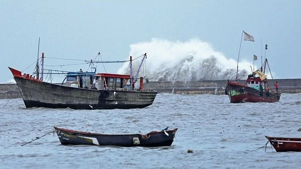 Cyclone Vayu begins skirting Gujarat coast, brings heavy rainfall: IMD