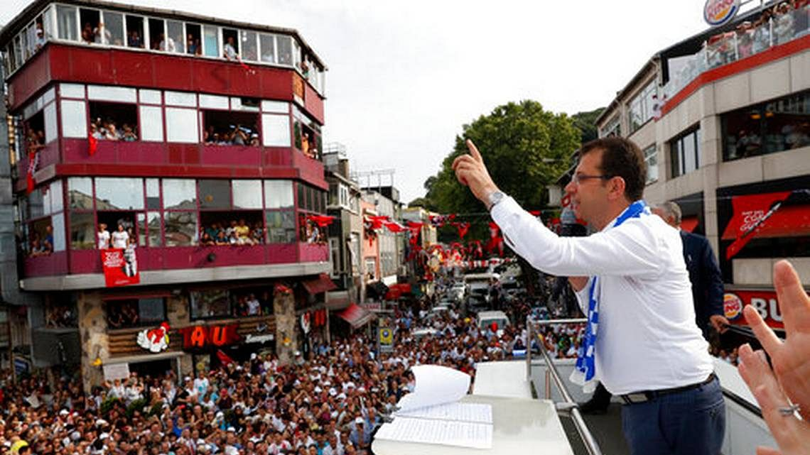 Erdogan's party loses controversial replay of Istanbul election