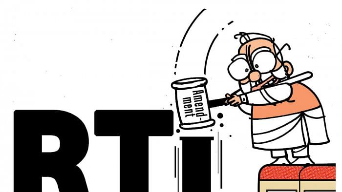 RTI Amendment Bill: Purpose is to make the government comfortable