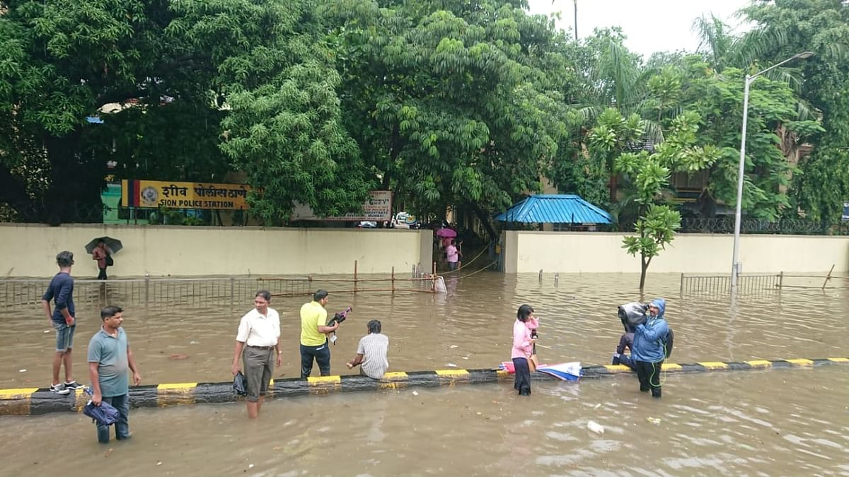 Mumbai Rains: Heavy rain after brief dry spell; trains, road traffic hit