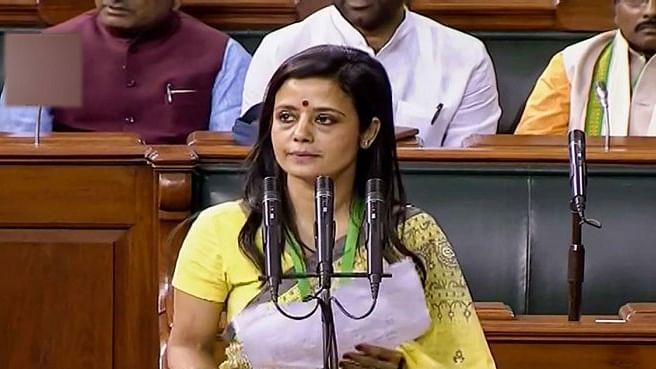 Trinamool Congress MP Mahua Moitra (file photo)