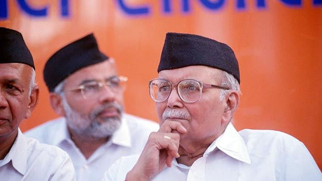 Former chief of RSS, Rajju Bhaiyya