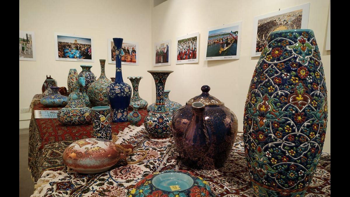 70 years of India-Iran relations: Delhi witnesses beautiful Iranian Art & Craft Exhibition