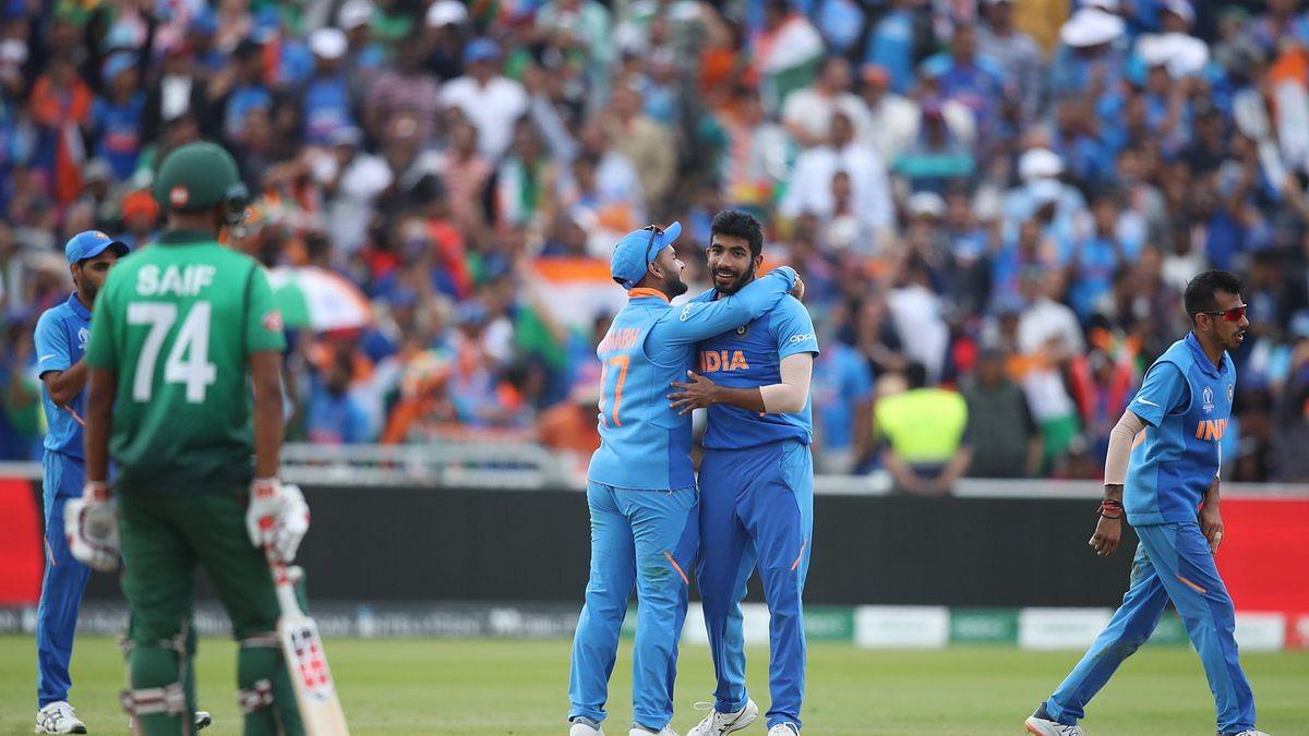 India-Bangladesh: Men in Blue win a semi-final spot