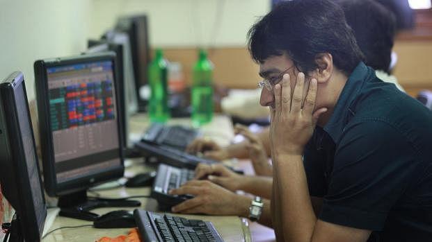 Sensex down 2,000 points, Nifty below 14,500
