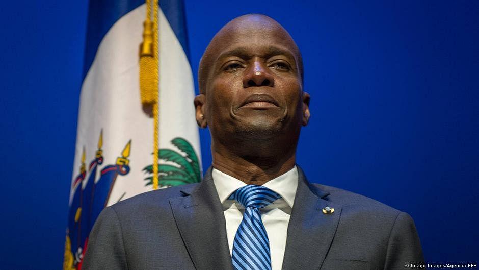 Haiti President Jovenel Moise (File photo)