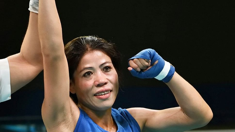 WATCH: Mary Kom win gold medal in style ahead of World Championships