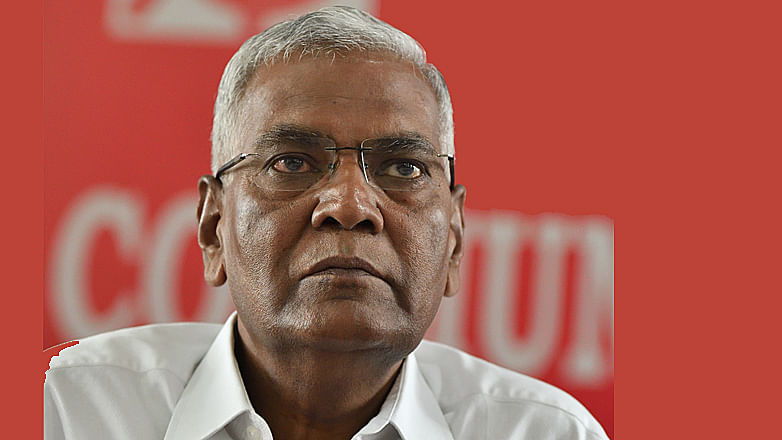 D Raja has a tough task of tackling Challenges posed by the BJP