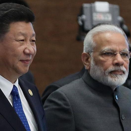 PM Narendra Modi with Chinese President Xi Jinping