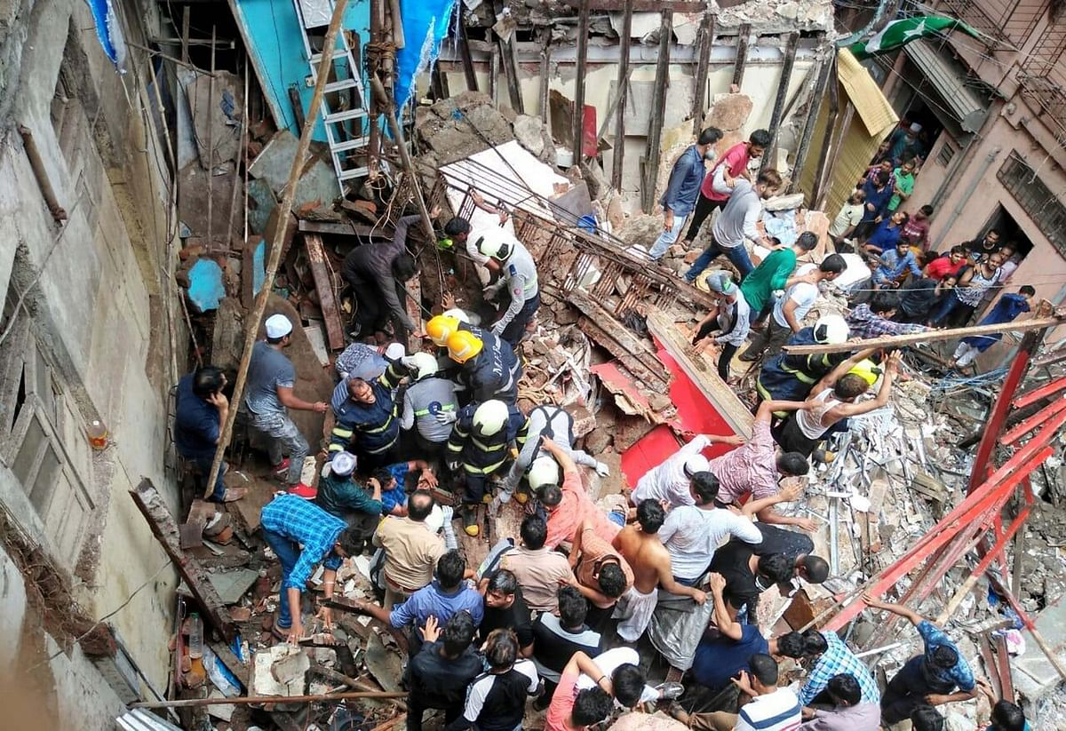 BMC's list of dangerous structures did not have Dongri's Kesarbai Building