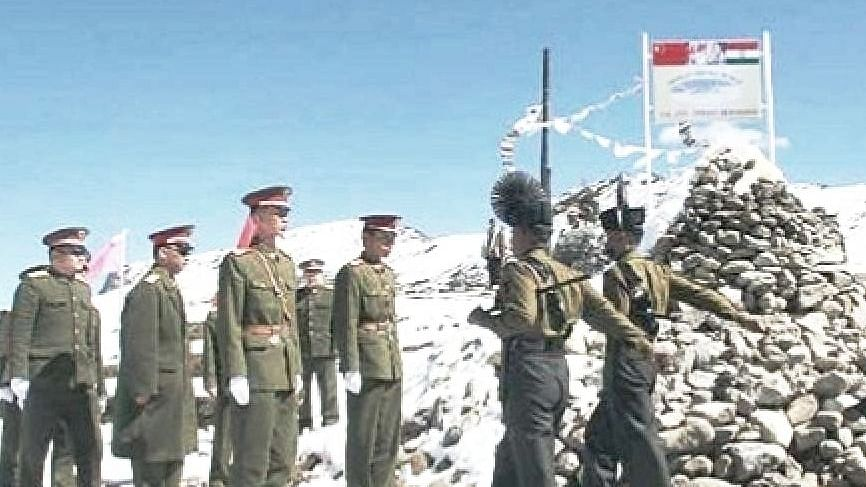 Congress condemns Chinese army's intrusion across LAC in Ladakh