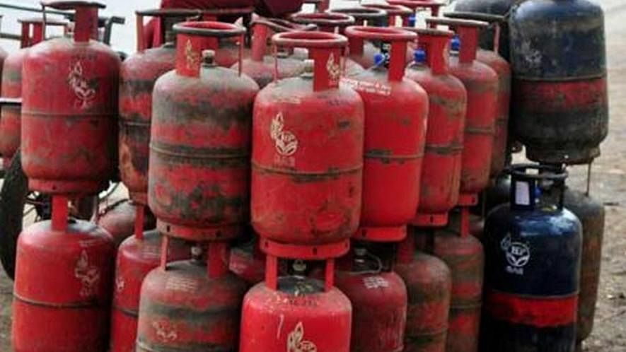 Domestic LPG gas cylinder price hiked for the third month in a row