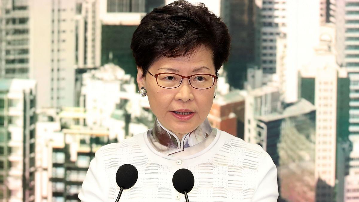 Hong Kong Special Administrative Region (HKSAR) Chief Executive Carrie Lam (IANS)