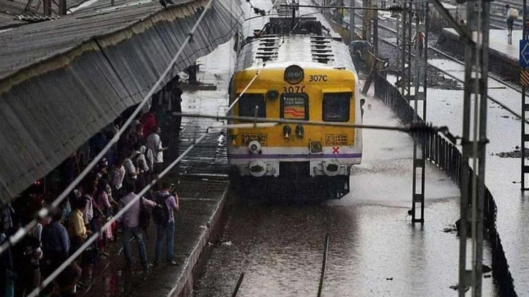Mumbai rains LIVE: Train movement  on Central Railway route affected after boulder falls on line