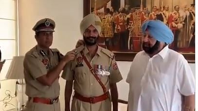 Punjab framing policy for one-rank promotion to brave soldiers: Amarinder Singh
