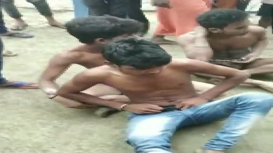 Watch: Dalit youths stripped, beaten on allegation of theft