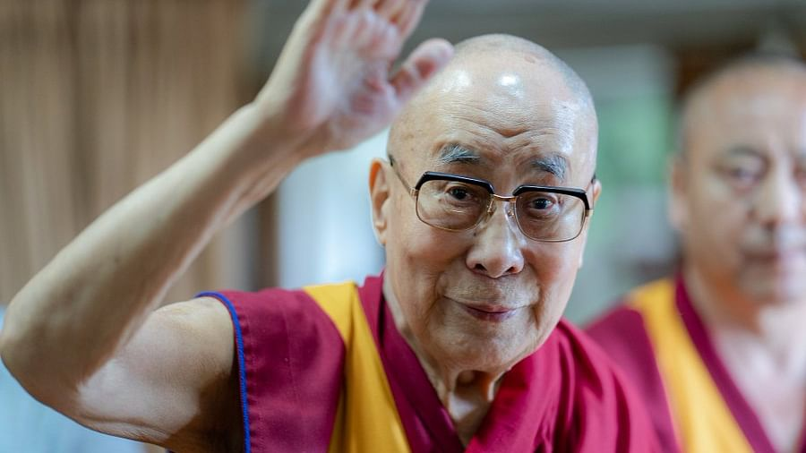 Will myself decide on my successor, says his holiness Dalai Lama