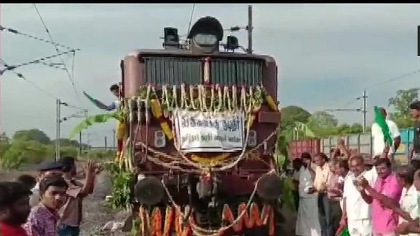 Special water train to reach Chennai on Friday