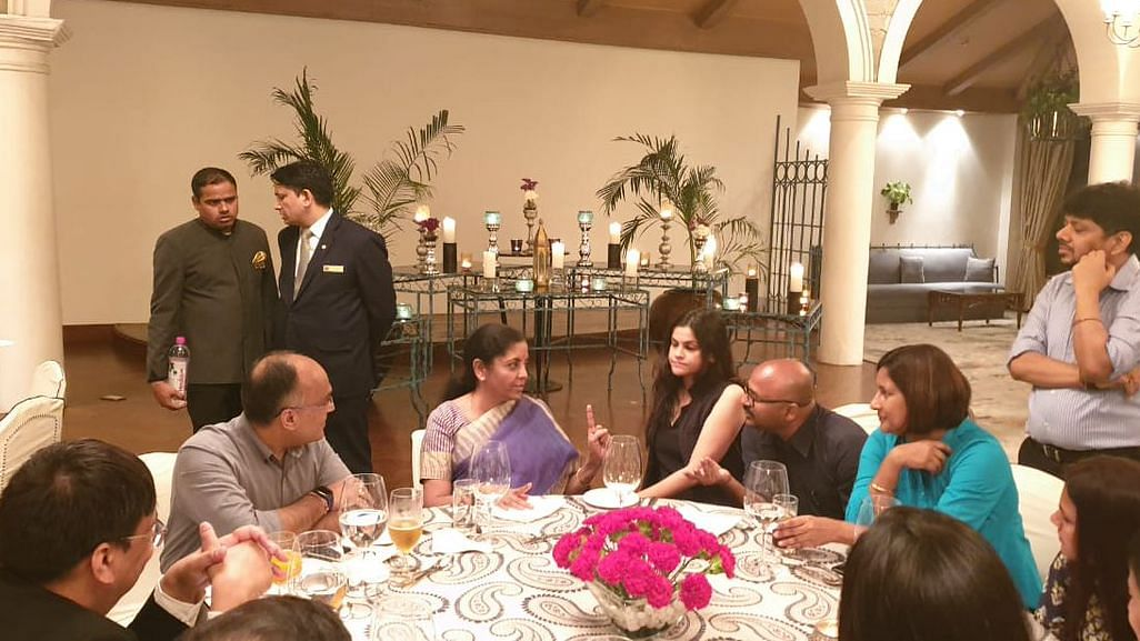 """Ban on media: Over 100 Journalists say """"No"""" to FM Sitharaman's post-budget dinner, boycott event"""