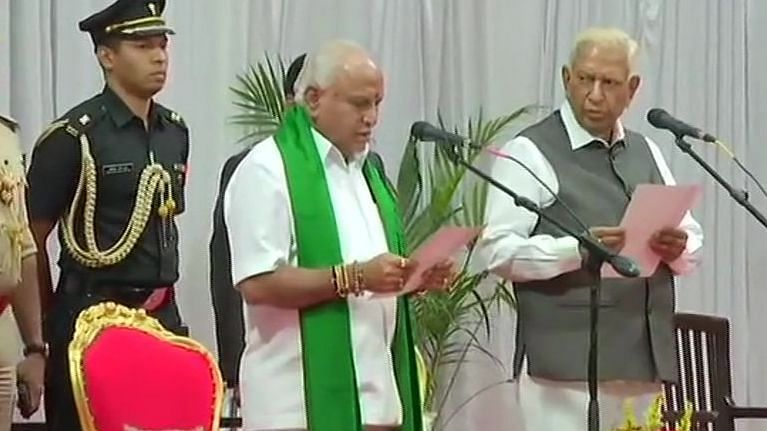LIVE news updates: BJP's BS Yediyurappa takes oath as Chief Minister of Karnataka at Raj Bhavan in Bengaluru