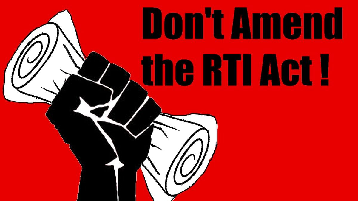 Parliament must rise to prevent govt's bid to dilute the RTI Act