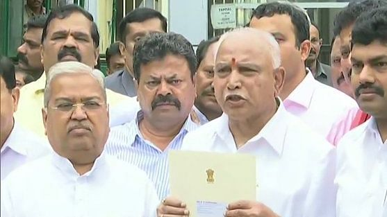 Karnataka: BJP stakes claim to form government after 3 rebel MLAs disqualified