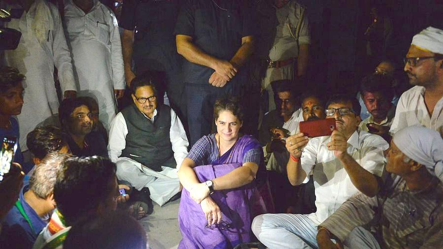 Priyanka Gandhi's detention boosts morale of party workers