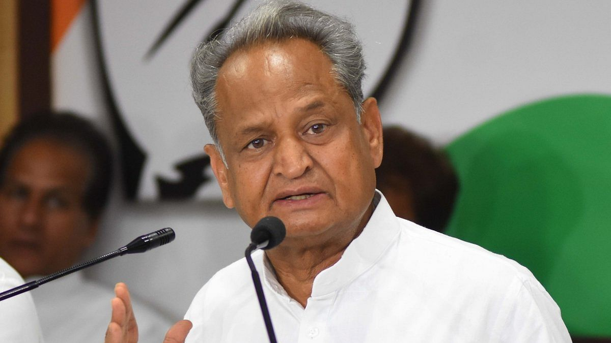 Rajasthan CM and senior Congress leader Ashok Gehlot (IANS Photo)