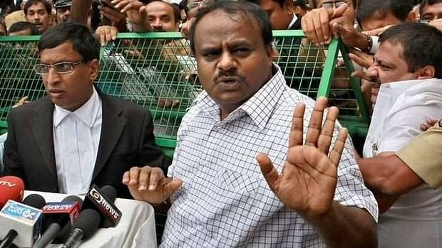 Karnataka Chief Minister H.D. Kumaraswamy (file photo)
