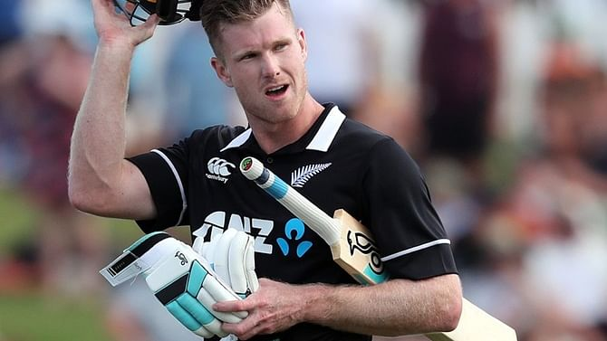 Jimmy Neesham mocks belated ICC boundary rule change