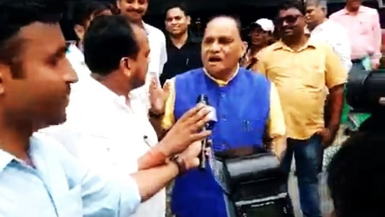 WATCH: Jharkhand BJP minister seen forcing Muslim lawmaker to chant 'Jai Shri Ram' outside assembly