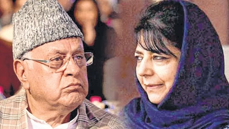Convene all-party meet  to discuss article 35-A Mehbooba Mufti to Farooq Abdullah