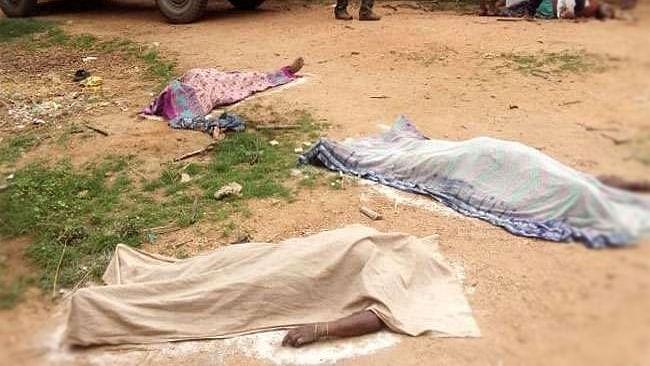 Four murdered in Jharkhand's Gumla on suspicion of being witch