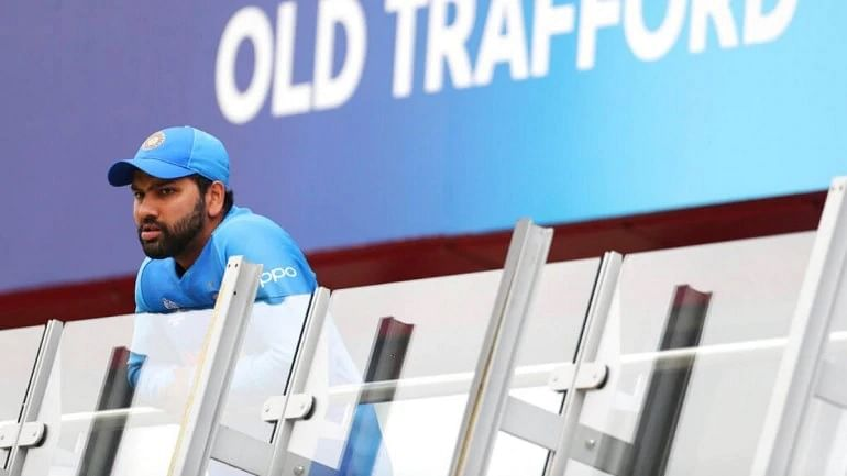My heart is heavy as I'm sure yours is too, says Rohit Sharma on semi-final loss