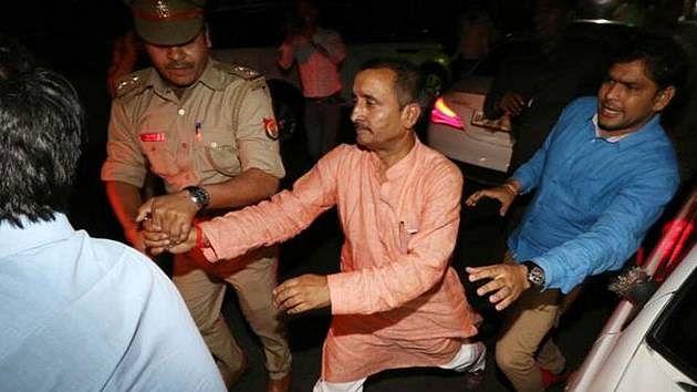 BJP MLA Kuldeep Sengar is currently incarcerated in jail