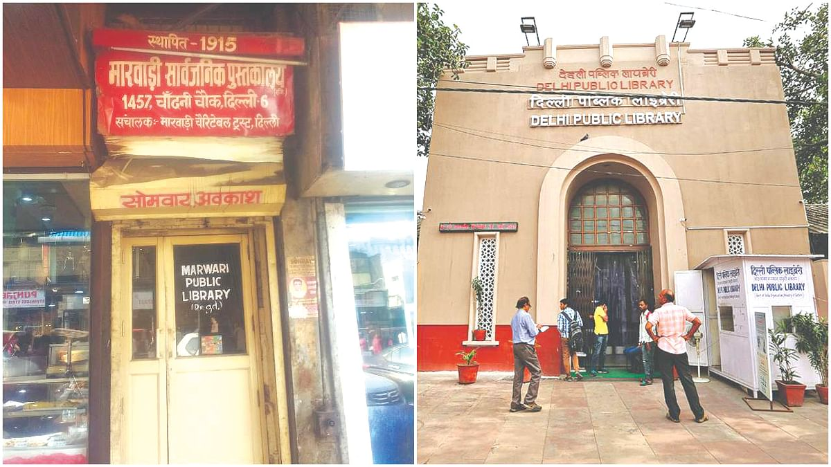 Delhi Public Library is one of the few that is thriving, others have not been so lucky