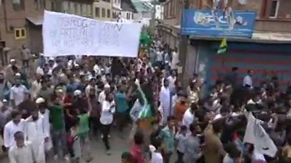Reports of protests, violence in Kashmir not fabricated, 'admits' govt