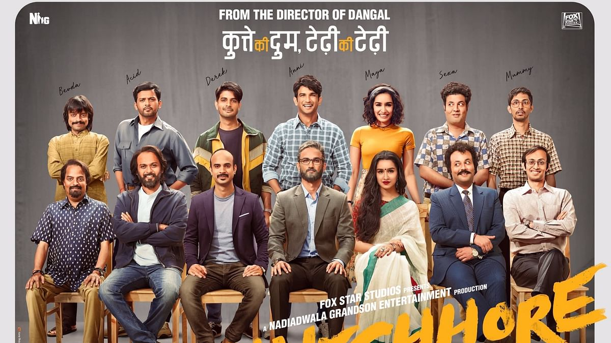 'Chhichhore' looks like  Raju Hirani's world without Aamir