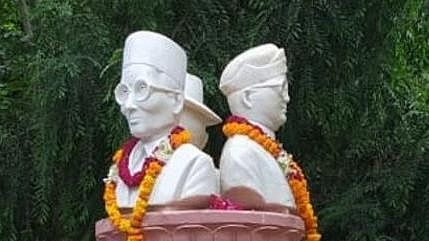 DUSU removes busts of Savarkar, Bose, Bhagat Singh