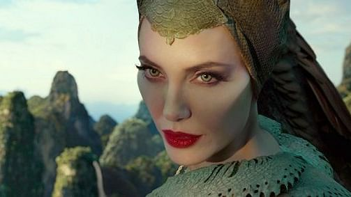 Angelina Jolie in 'Maleficent: Mistress of Evil' (Twitter)